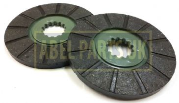 DISC BRAKE PAIR 3C MKII 384B TRANSMISSION (PART NO. 990/36100)